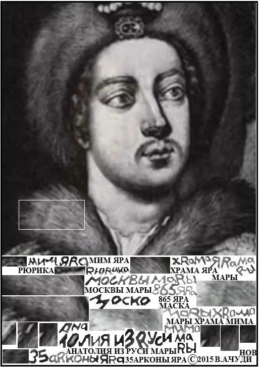 В.А. Чудинов. Портрет Петра Первого храма Яра
