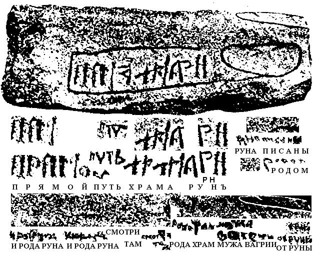 Камень из Хордаланна и мое чтение надписе