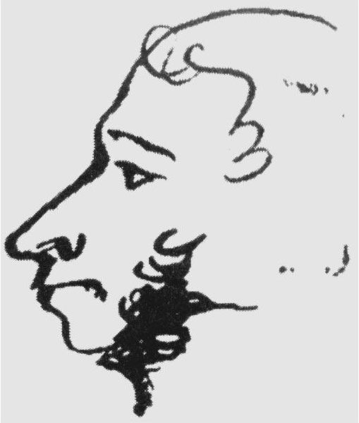 Последний автопортрет Пушкина